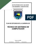 Plan de Estudio Tecnico 2008