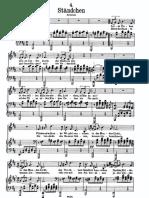 Serenata de Schubert - O Salutaris - Tono Para Mezzo o Baritono