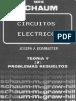 Circuitos Electricos - Teoria y Problemas Resueltos - J.a. Ed Minister
