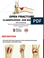 Open Fracture and It's Classification and Management Siti