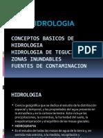 Conceptos Basicos de Hidrologia