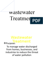 Water Pollution Part 3 WWT - Lecture 4