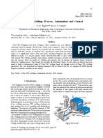 Pulse TIG Welding Process Automation and Control