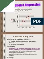 2 Correlation & Regression