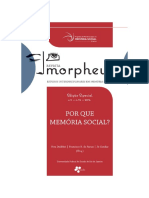 Revista Morpheus - Memoria Social