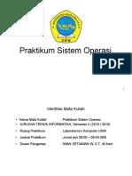 Modul Praktikum Sistem Operasi