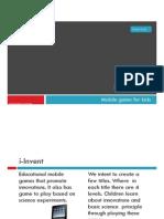 i - Invent Mobile Games