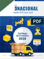Catalogo Nacional 2018