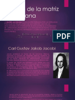 Historia de La Matriz Jacobiana
