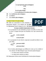 10. Les Groupements phraseologiques
