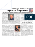 May 30 - June 5, 2018  Sports Reporter
