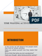 Time Wasting Activities