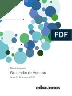 Generador de Horarios Version 1.1 1