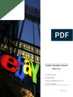 Ebay Equity Val Rep