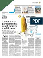 Las Etiquetas Para Alimentos Genéticamente Modificados