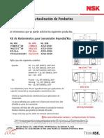 Kit de Rodamientos Para Transmision Hyundai i10 i20 Kia Picanto y Rio