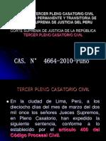 Sentencia Tercer Pleno Casatorio Civil
