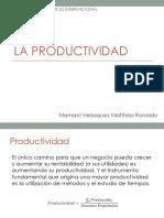 La Productividad (1)
