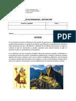 4 UNIDAD - GUÍA 6 (LOS INCAS).docx
