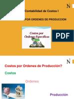 Costos Por Ordenes de Producción