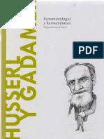 30. Garcia-Baró, Miguel - Husserl y Gadamer. Fenomenología y hermenéutica.pdf