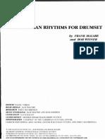 AFRO-CUBAN RYTHMS FOR DRUMSET.pdf