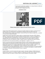 Historia Del Ajedrez Actualizada Hasta 2012