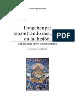 Longchenpa Encontrando Descanso en La Ilusión.