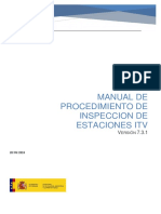 Manual de Procedimiento de Inspeccion de Estaciones ITV v731 May 2018