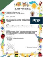 Plan de Clase Transición