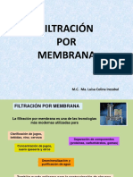 Filtracion Por Membrana