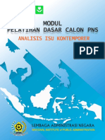 Modul Analisis Isu Kontemporer
