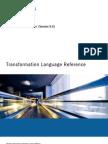 Informatica PowerCenter 9.0 Transformation Language Reference