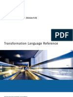 Informatica PowerCenter 9.0 Transformation Language Reference