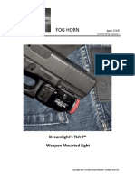 Streamlight's TLR7 Weapon Mounted Light