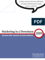 Marketing in a Downturn E-book