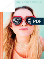 It's Not Me It's You (Point Paperback Excerpt)