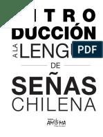 V.2. INTRODUCCION A LA LENGUA DE SEÑAS CHILENA