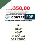 Monografia e Tcc  fazemos Encomenda e compra por R$350.00