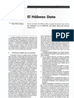 El Habeas Data