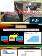 Resaltos Hidraulicos- Mec. de Fluidos II