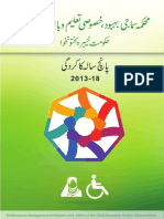 Social Welfare Report KPK - 2013-2018