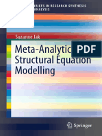 Jak, Suzanne (2015) Meta-Analytic Structural Equation Modelling