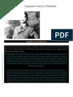 Personajes de La Segunda Guerra Mundial