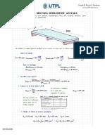 Ejercicio de Prueba de Concreto - Diseño de Losa Unidireccional