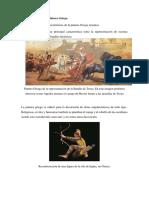 Características de La Pintura Griega y Egipcia