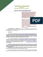 Decreto Nº 7.746, De 5 de Junho de 2012