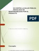 DERECHO PENAL, Delitos de Salud y Financieros
