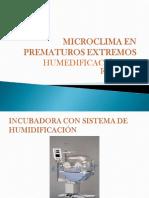 Microclima en Prematuros Extremos