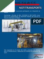 Notitransporte Montaje Industria Siderurgica